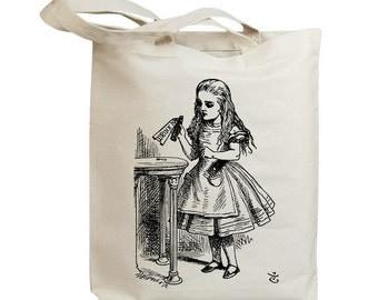 Alice in Wonderland John 06 Eco Friendly Canvas Tote Bag (id7552)