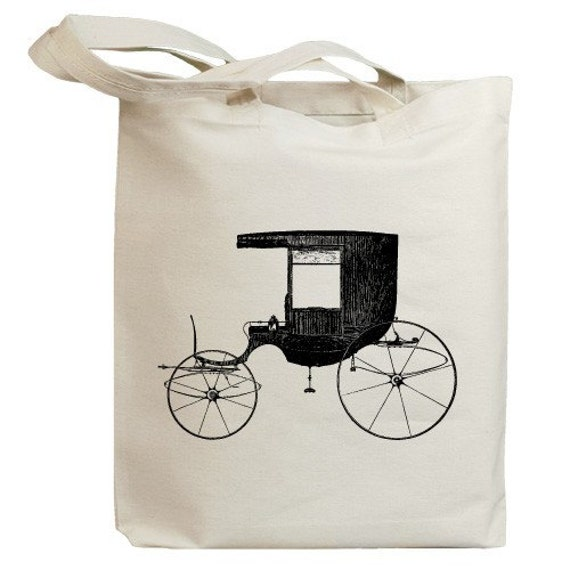 Retro Carriages and Coaches 03 Eco Friendly Canvas Tote Bag (id0062)