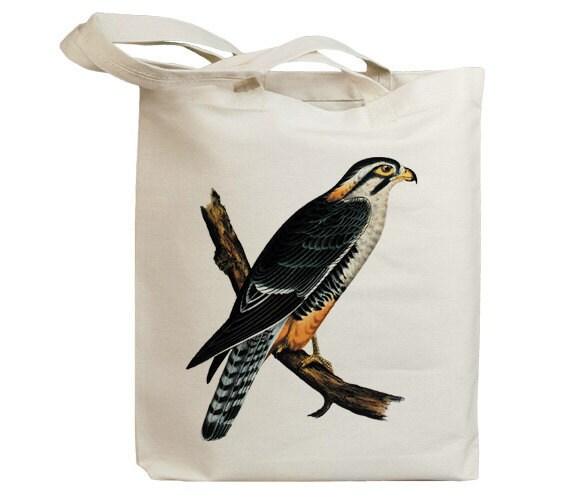 Retro Hawk 01 Eco Friendly Canvas Tote Bag (id5052)