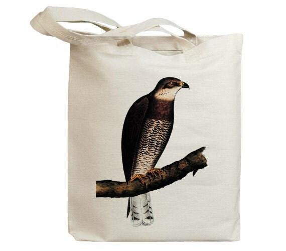 Retro Hawk 02 Eco Friendly Canvas Tote Bag (id5054)
