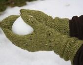 New England mittens - (knitting pattern PDF download)