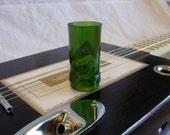 Bottleneck Cigar Box Guitar Slide - Mean Green