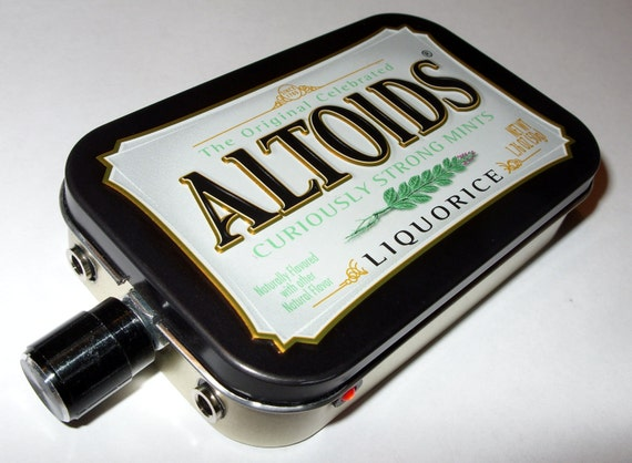 18 Volt CMOY Grado RA1 JRC4556 Headphone Amplifier Altoids Black Liquorice