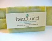 Organic Vegan Peppermint Soap