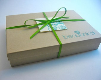 Organic Soap Gift Box (Four Soaps)