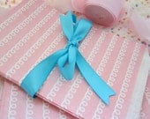 20 Pink & White Favor Bags