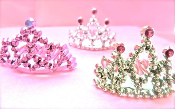 Princess Tiara Cupcake Decore-Set of 6