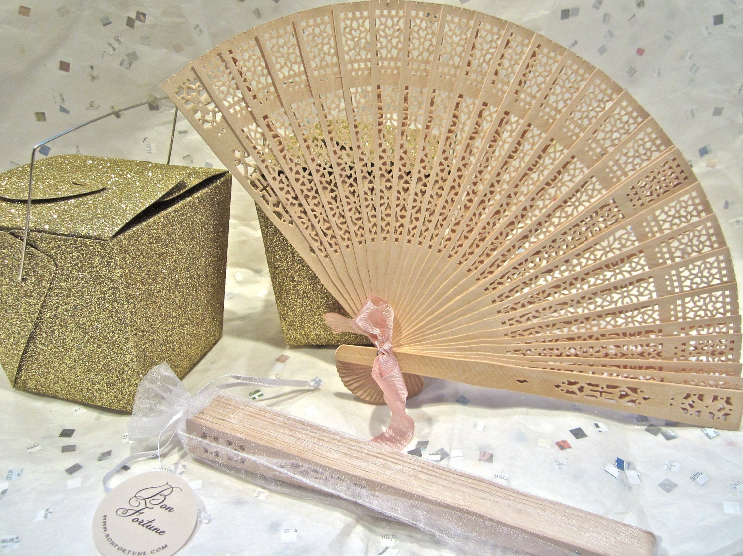 natural wood fans wedding favors With fans for wedding favors