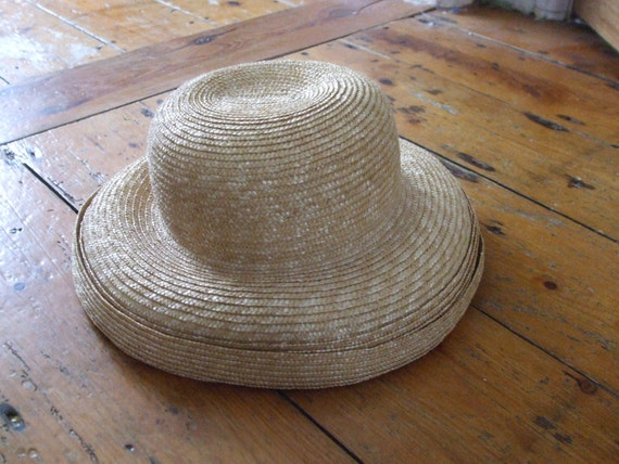 Vintage straw hat by Balfour