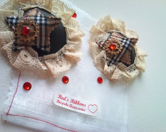 Burlesque Nipple Pasties steampunk