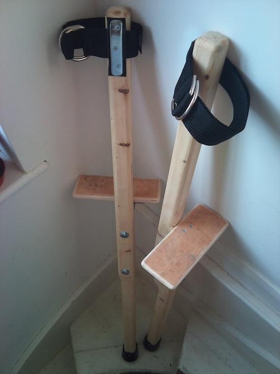 Stilts Wooden Circus Peg Stilts Custom Height