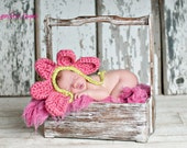 Little flower bonnet
