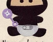 Ninja in Training Baby Bib