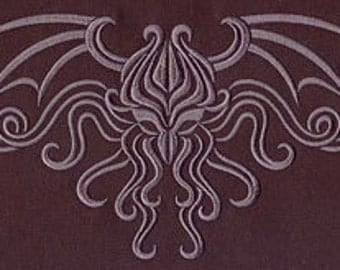 HP Lovecraft's Cthulhu embroidered apron