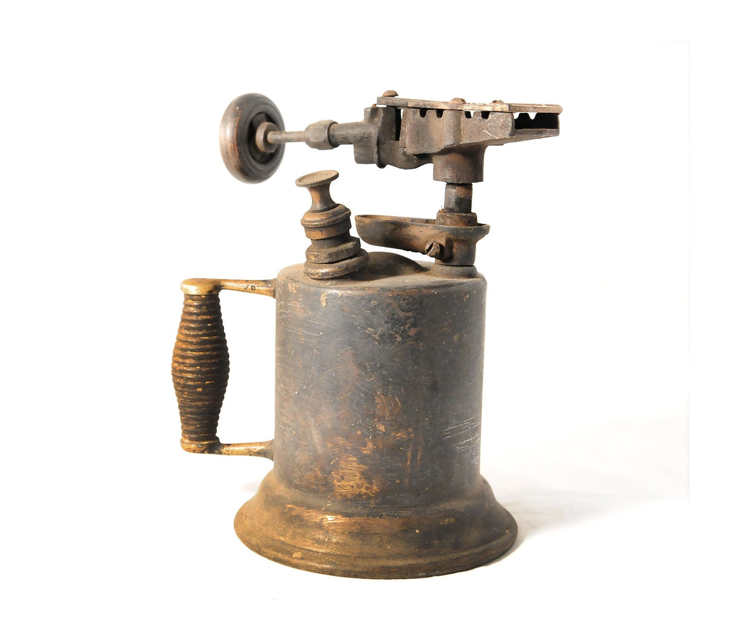 Detroit Torch And Mfg Company Antique Brass By Theatomicattic