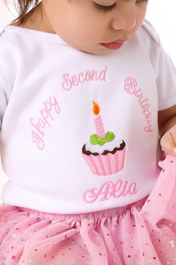 Girls First Birthday Shirt or Onesie    1-4 years