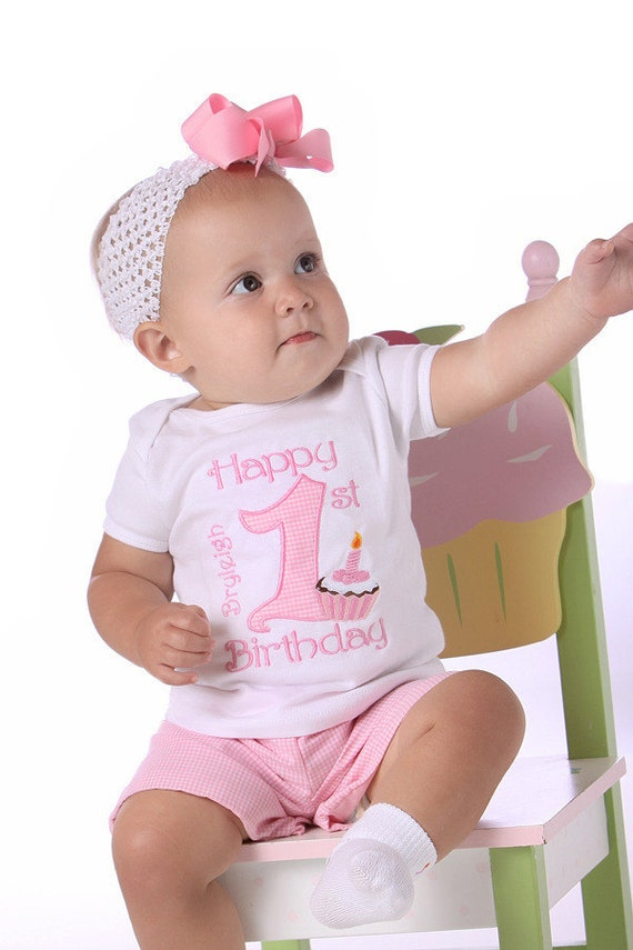 Baby girl first birthday outfit, Pink one shirt, first birthday shirt, 1st birthday, big one, cake smash outfit, baby girl birthday pink
