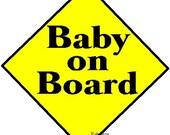 maternity Baby on Board shirt decal NEW by kustomdesignzbyk