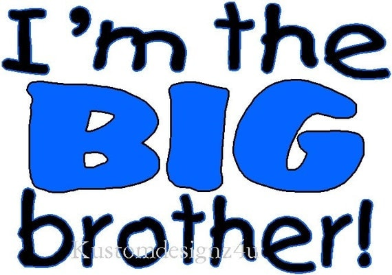 Big Brother iron-on shirt heat transfer NEW by kustomdesignzbyk