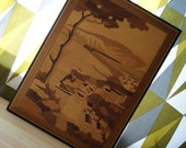 Italian Marquetry Picture