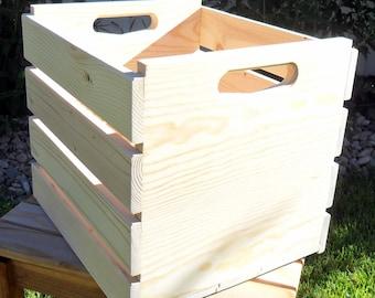 Record Album Storage Crate