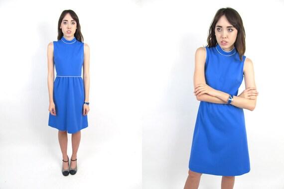 60s Dress - Mod Dress - 60s Space Age Mod dress