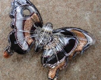 Murano Lampwork Pendant, Butterfly , Best Price.