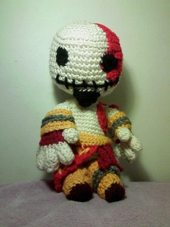 God Of War Kratos Sackboy