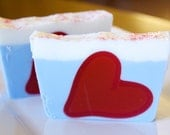 "Goat Milk Soap - ""Love is in the Air"" Goat Milk Soap"