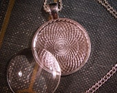 6 KITS -Round Necklace sets (1 inch - 2mm) Includes High quality pendants, crystal clear domed glass and matching necklaces