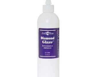 Jewelry Glue for glass 8 oz Diamond Glaze ( Resin Like doming adhesive) by judikins The perfect Adhesive / glue for Jewelry Making
