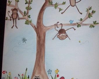 Hangin' Around- Monkey Style