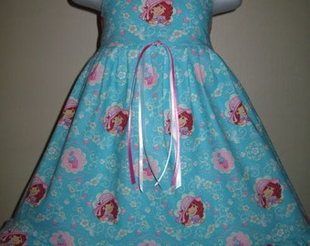 Custom Boutique STRAWBERRY SHORTCAKE Girls Dress - size 2/3t - Ready To Ship - SarahsRainbow