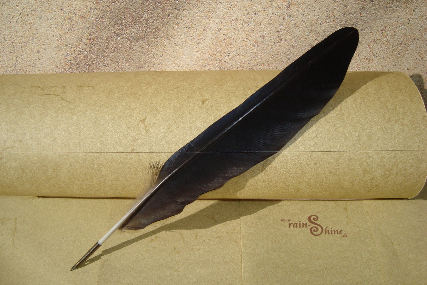 Black Crow Feather Quill Pen For Calligraphy L44
