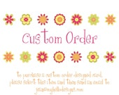 Reserved for Custom Orders of Printables (Purchase Only After a Conversation with My Hello Designs)
