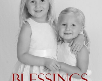Holiday Card:  Blessing & Peace
