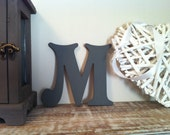 Victorian Decorative Wall Letter 'M' - Any Colour - 8 inch