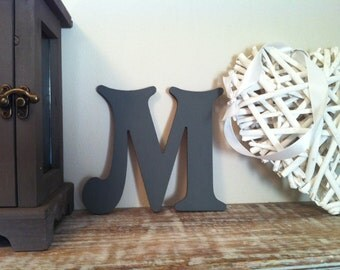 Victorian Decorative Wall Letter 'M' - Any Colour - 10 inch