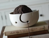 handmade modern - vintage yarn bowl