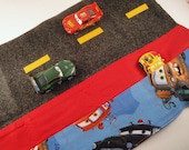 Toss and Go Toy, Take Along Toy, Car Roll, Car Caddy - Boy Toy - Disney Cars