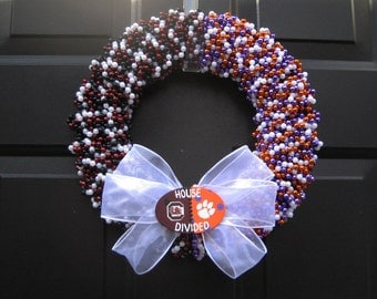 House Divided Wreath Custom Any Teams