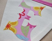 EXTRA Custom Personalized Fabric Bunting Flags,  Handmade by myturtledoves