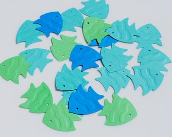 Fish Confetti | Fish Die Cuts | Fish Craft Punch