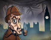 Sherlock A4 Print