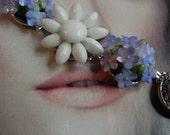 Vintage Earring Bracelet for Baby Blue Eyes
