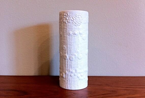 rosenthal studio line martin froger matte signed white vase