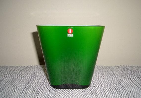 Iittala Evergreen Vase by Heikki Orvola