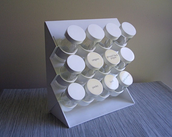 Copco White Spice Rack by Sam Lebowitz