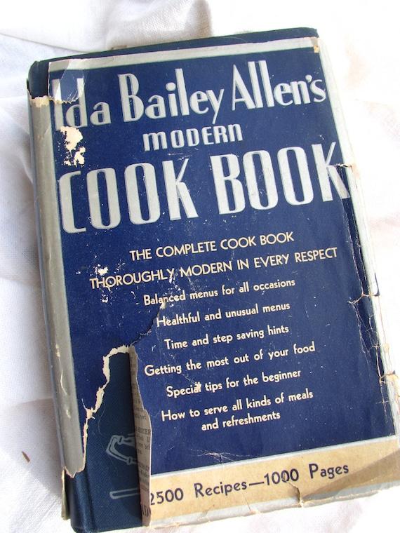 Ida Bailey Allen's Modern Cook Book 1932