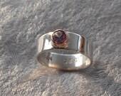 Simulated Alexandrite Ring